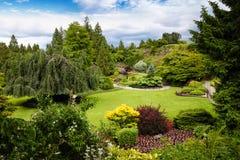 Парк ферзя Элизабета в Ванкувере, Канаде Стоковое Изображение RF