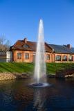 парк фонтана Стоковое Фото