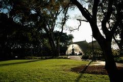 парк фонтана Стоковая Фотография RF