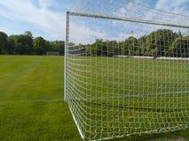 парк футбола поля города Стоковое Фото