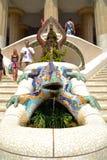 Парк флигеля ¼ Барселоны GÃ Стоковая Фотография