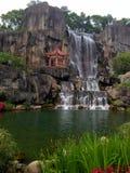 Парк холма Фучжоу провинции Фуцзяня Китая золотой стоковые фотографии rf