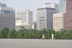 парк художника Стоковое Изображение