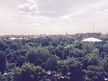 Парк цирка сверху Стоковая Фотография