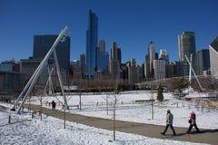 Парк Чикаго Стоковые Изображения
