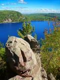 Парк штата Висконсин озера дьявол Стоковое фото RF