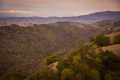 Парк штата Генри w Coe около холма CA Моргана Стоковое фото RF