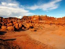 Парк штата долины гоблина, привлекательность ландшафта Юты Стоковое Изображение