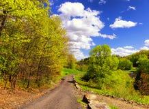 Парк штата запруды ручейка хмеля в Naugatuck Стоковые Изображения RF