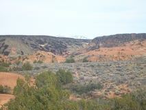 Парк штата каньона снега, Юта Стоковые Изображения