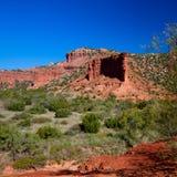 Парк штата каньонов Caprock в Техасе Стоковое Изображение RF