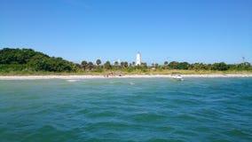 Парк штата на Мексиканском заливе, Флорида ключа Egmont Стоковые Изображения
