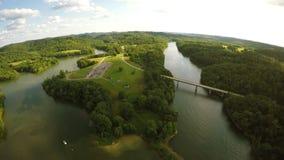 Парк штата озера Grayson сток-видео