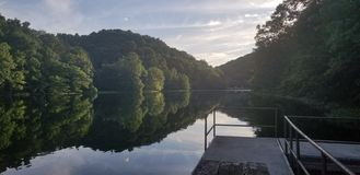 Парк штата озера Greenbo стоковое изображение rf