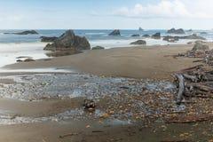 Парк штата пляжа Херриса, южный Орегон Стоковое Фото