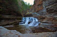 Парк штата Роберта Treman, Ithaca, NY Стоковые Фото