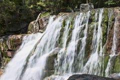 Парк штата Baxter падений потока Katahdin стоковое фото rf