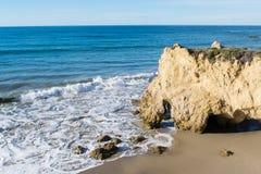 Парк штата El матадора в пляже Malibu Стоковое Изображение RF