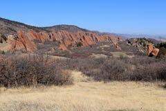 Парк штата Roxborough, Колорадо Стоковое Изображение RF