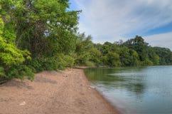 Парк штата Shetek озера, Минесота стоковая фотография
