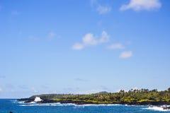 Парк штата Waianapanapa, Мауи Гаваи Стоковое фото RF