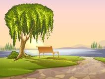 Парк иллюстрация вектора