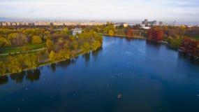 Парк Alexandru Ioan Cuza, Бухарест Стоковые Изображения