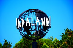 Парк aqua aladand kusadasi Aydin стоковое изображение