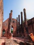 Парк Ayutthaya исторический на Таиланде стоковые фотографии rf