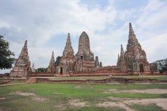 парк ayutthaya исторический Стоковые Изображения