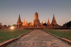 парк ayutthaya исторический Стоковые Фотографии RF