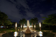 Парк Azhar Al Стоковая Фотография RF