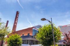Парк Bailey в Уинстон-Сейлем, NC Стоковое фото RF
