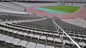 парк barcelona олимпийский Стоковое Фото