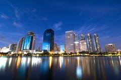 Парк Benjakiti, Бангкок Таиланд Стоковое Изображение RF