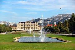 Парк Borely, марсель, Франция стоковая фотография rf