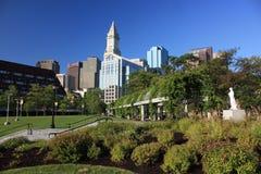 парк boston columbus стоковые изображения rf