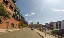 парк boston fenway ma Стоковая Фотография