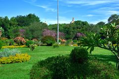 Парк Cubbon, Bengaluru (Бангалор) Стоковое Фото