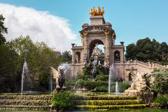 Парк de Ла Ciutadella стоковая фотография