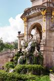 Парк de Ла Ciutadella стоковое фото rf