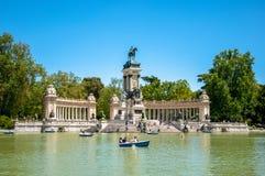 Парк del Retiro, Мадрид, Испания стоковые изображения