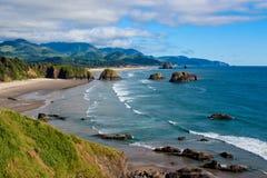 Парк Ecola в Орегоне стоковое изображение rf