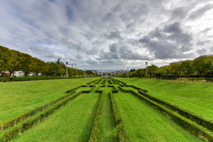 Парк Eduardo VII - Лиссабон, Португалия Стоковое Фото