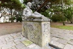 Парк Eduardo VII - Лиссабон, Португалия Стоковые Фото