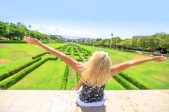 Парк Eduardo VII Лиссабон Стоковая Фотография RF