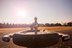 Парк, faucet воды Стоковые Изображения