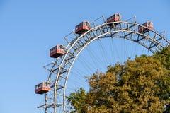 Парк Ferris потехи катит внутри парк потехи Prater вены Стоковое Изображение RF