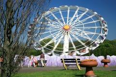 парк funfair стоковые изображения rf