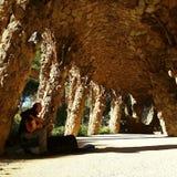 Парк Güell стоковое фото rf